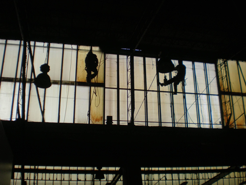 Trabajos verticales industriales en Cantabria